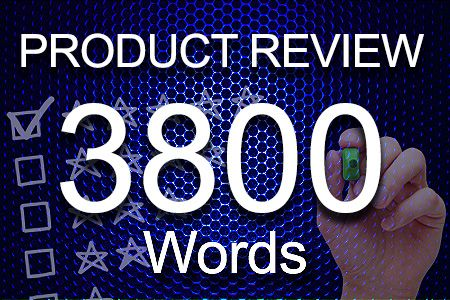 Product Review 3800 words