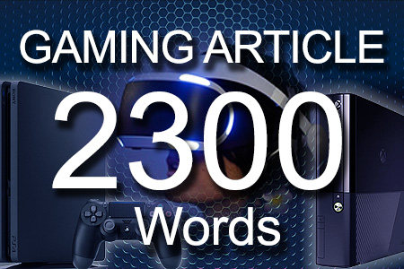 Gaming Articles 2300 words