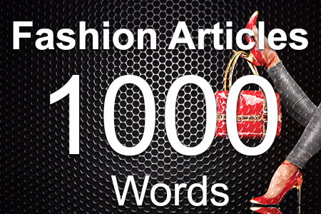 Fashion Articles 1000 words