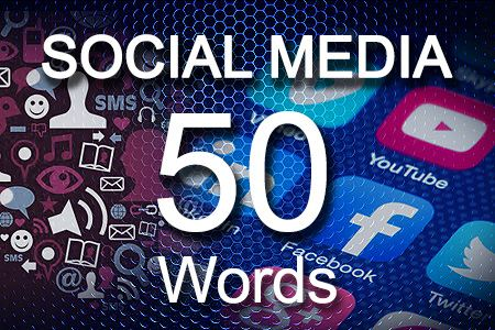 Social Media Posts 50 words