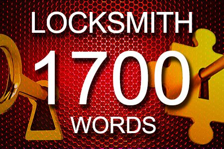 Locksmith Articles 1700 words