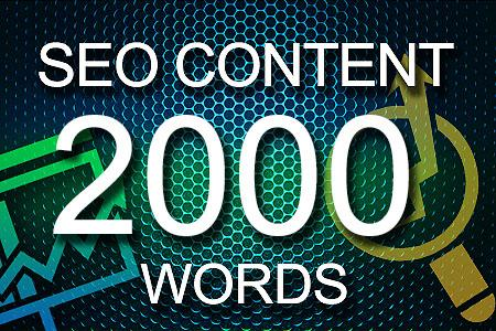 Seo Content 2000 words