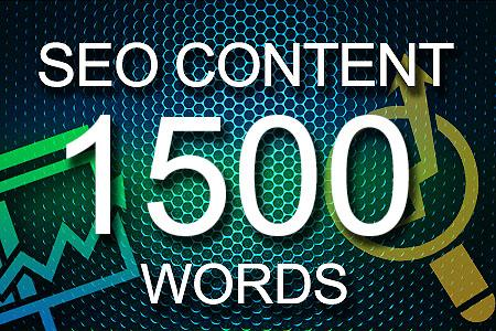 Seo Content 1500 words
