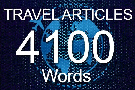 Travel Articles 4100 words