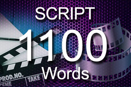 Scripts 1100 words