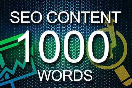Seo Content 1000 words