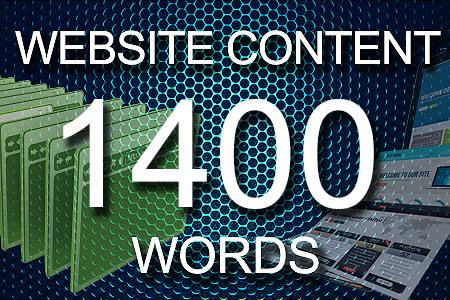 Website Content 1400 words