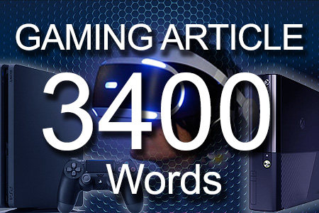 Gaming Articles 3400 words