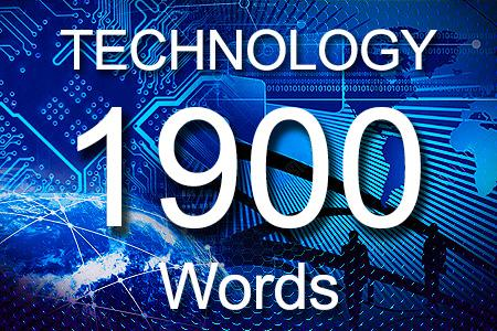 Technology Articles 1900 words