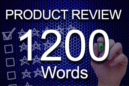 Product Review 1200 words