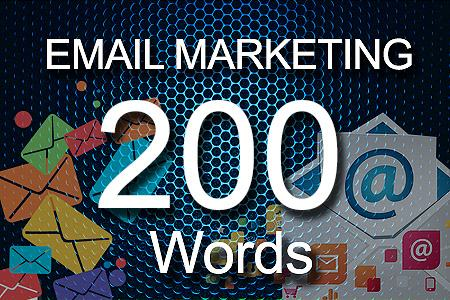 email Marketing 200 words
