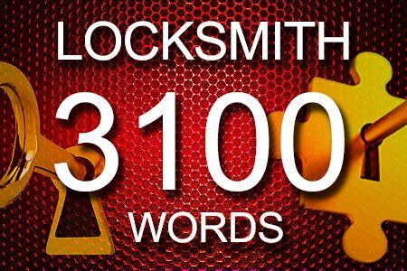 Locksmith Articles 3100 words