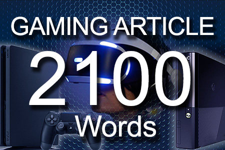 Gaming Articles 2100 words