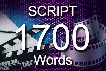 Scripts 1700 words