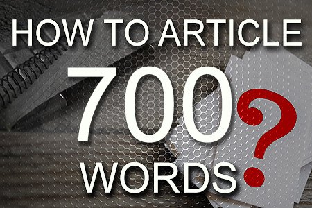 How To Articles 700 words
