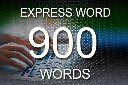 Express Word 900 words