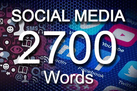 Social Media Posts 2700 words
