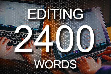Editing Services 2400 words