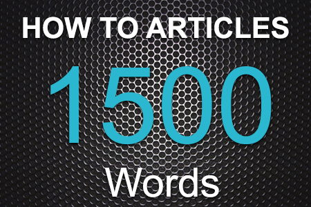 How To Articles 1500 words