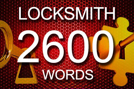 Locksmith Articles 2600 words
