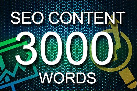 Seo Content 3000 words