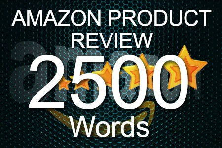Amazon Review 2500 words