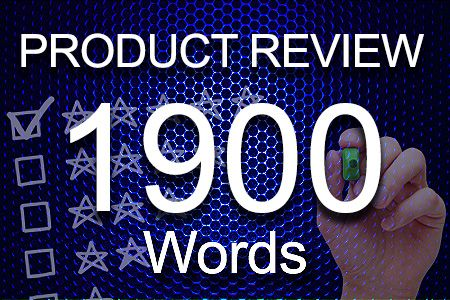 Product Review 1900 words
