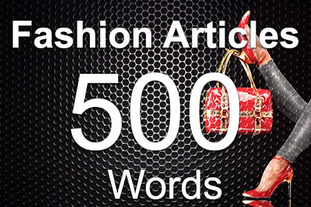 Fashion Articles 500 words