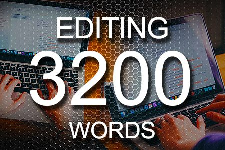 Editing Services 3200 words