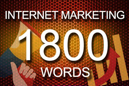Internet Marketing 1800 words