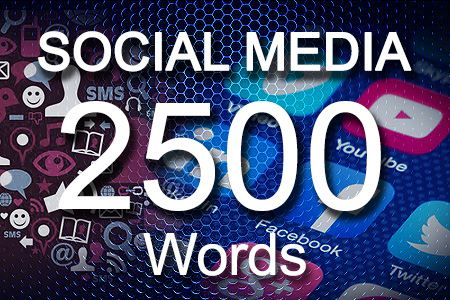 Social Media Posts 2500 words