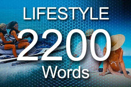 Lifestyle Articles 2200 words