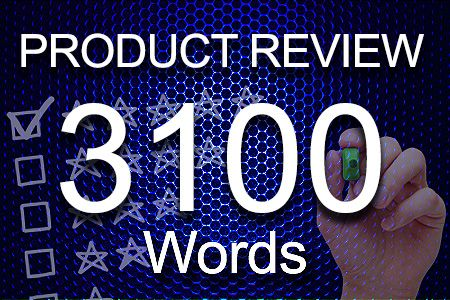 Product Review 3100 words