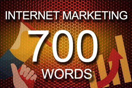 Internet Marketing 700 words