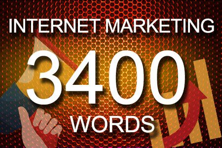 Internet Marketing 3400 words