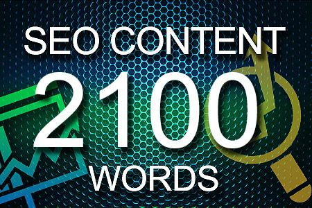 Seo Content 2100 words