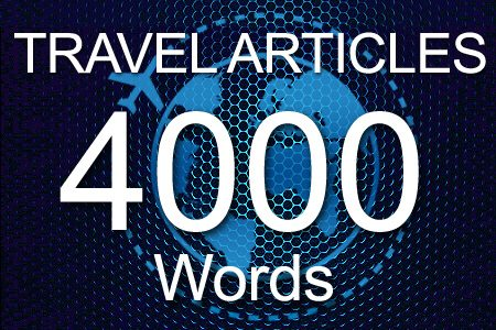 Travel Articles 4000 words