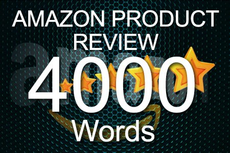 Amazon Review 4000 words