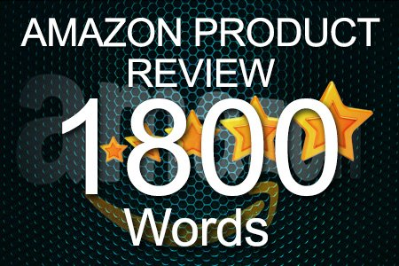 Amazon Review 1800 words