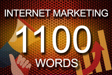 Internet Marketing 1100 words