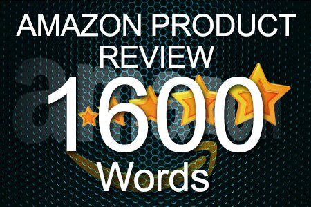 Amazon Review 1600 words