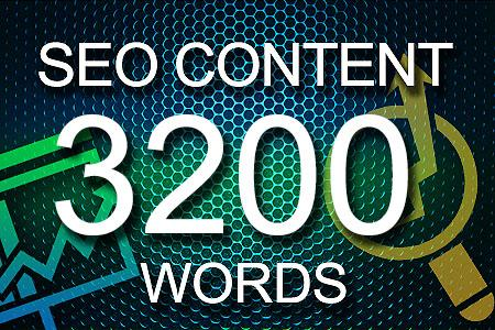 Seo Content 3200 words