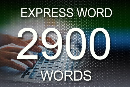 Express Word 2900 words