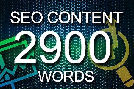 Seo Content 2900 words
