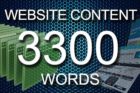 Website Content 3300 words