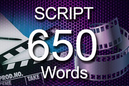 Scripts 650 words