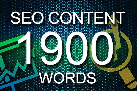 Seo Content 1900 words