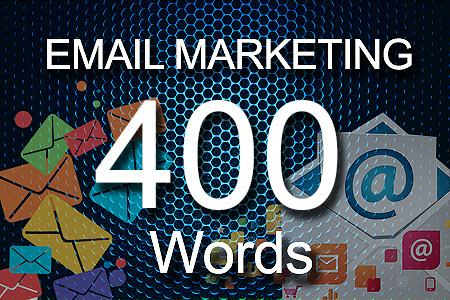 email Marketing 400 words