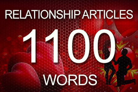 Relationship Articles 1100 words