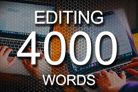 Editing Services 4000 words